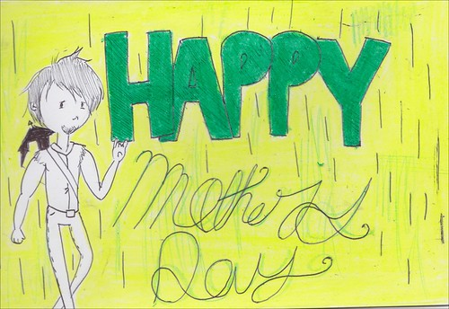 daryl dixon mother's day card by wickeddollz