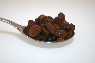 05 - Zutat Rosinen / Ingredient raisins