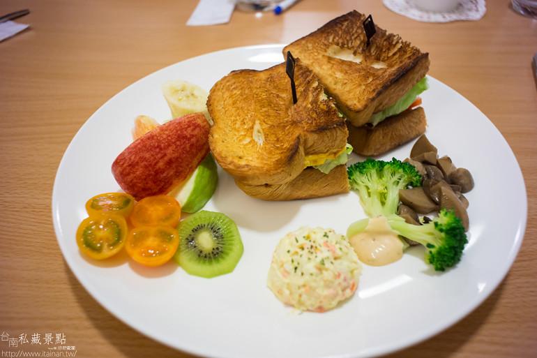 台南私藏景點--宇慶咖啡早午餐 (17)