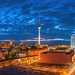 Berlin Skyline Jannowitzbrücke by 030mm-photography