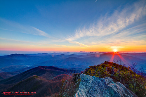 usa sunrise landscape geotagged spring unitedstates hiking tennessee hdr cosby greatsmokymountainsnationalpark gsmnp photomatix crestmont sigma1020mmf456exdc mountcammerer canon7d nashvillehikingmeetup catonsgrove geo:lat=3576356442 geo:lon=8316132265
