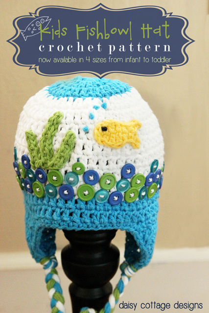 Make an adorable fishbowl hat from this FREE! crochet beanie pattern. Creative and unique, it's sure to get oohs and ahs from all who see it!
