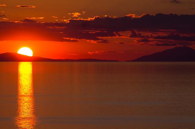 Perachora sunset