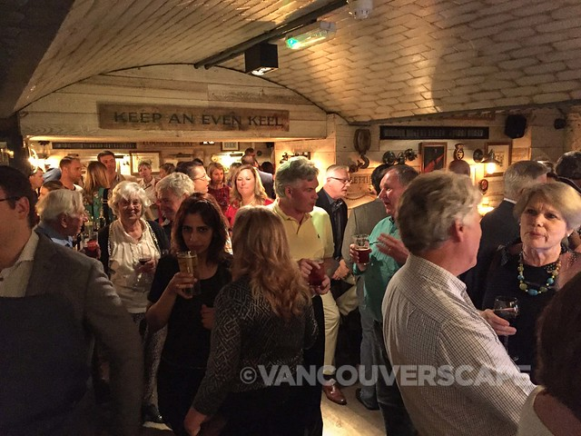 WestJet party at London's Admiralty Pub
