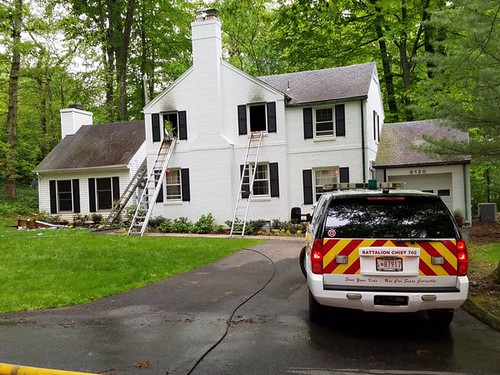Candle Causes Bethesda House Fire
