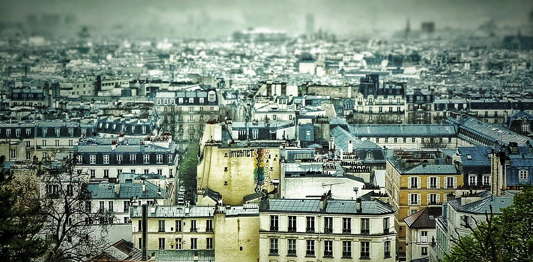 Paris, France, Seen from Montmartre