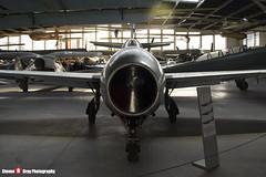 16 SP-GLK - 925 - Polish Air Force - Yakovlev Yak-23 - Polish Aviation Musuem - Krakow, Poland - 151010 - Steven Gray - IMG_9869