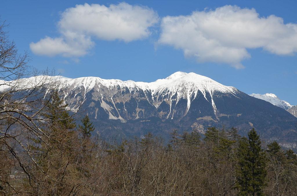 Mountains around lake Bled, Slovenia