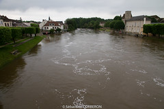 Inondation a Nemours