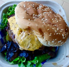 the guru burger from Holy Grill