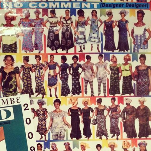 street poster アフリカ 国立民族博物館