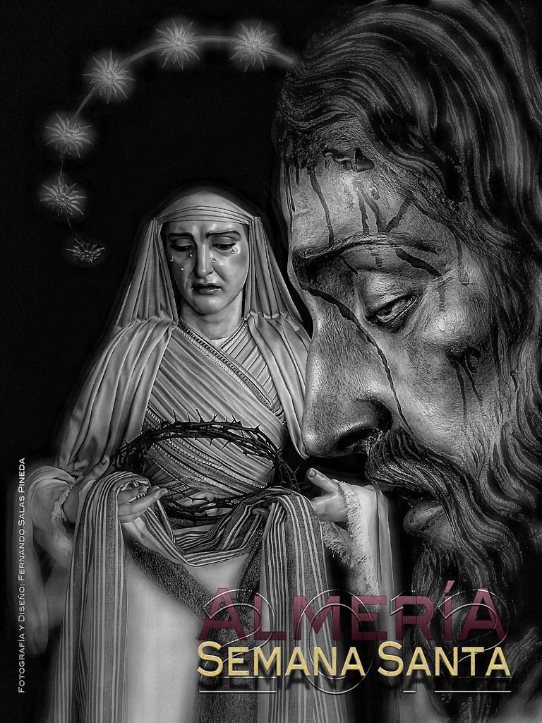Cartel virtual de Semana Santa de la bitácora Anales de las Cofradías de Almería
