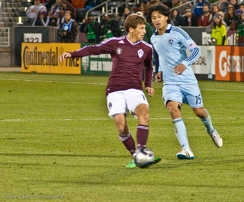 Wells Thompson Colorado Rapids by CE's Photography
