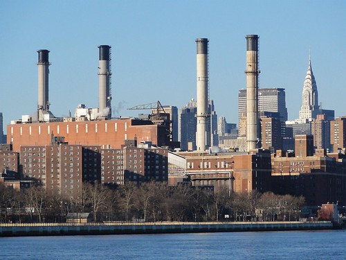 Power Station and the Chrysler building