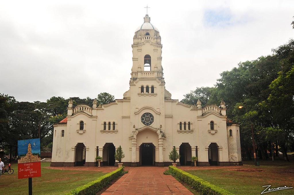 Resultado de imagen para Iglesia de san Ignacio guazú misiones