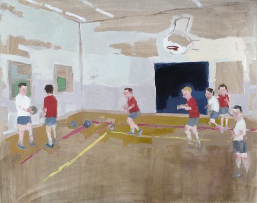 "Jennie Ottinger ""Orphans at Play (Dodgeball)"""