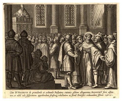 008-Iconographia magni patris Aurelli Augustini…1624-Grabados de Boetius Bolswert- Cortesia de Villanova University