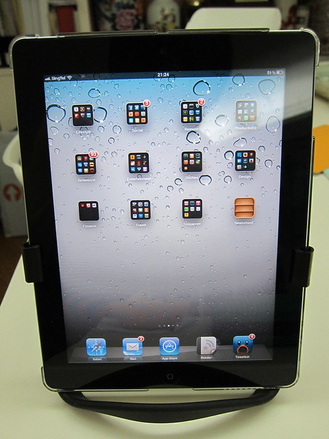 Infinite Loop Tablet Stand - iPad 2 (Front)