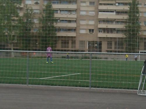 Amateur Sunday Football in Barcelona by simonharrisbcn
