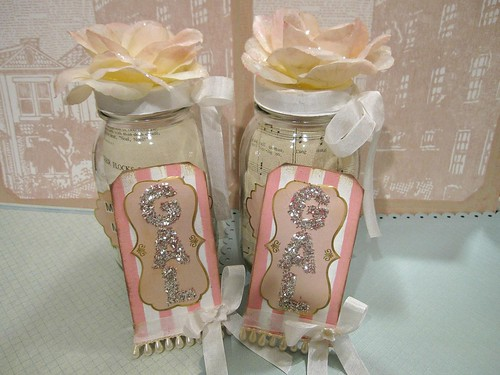Wedding Jar Vignette! 8