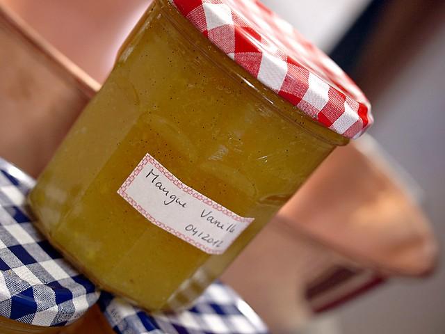Back to basics: Mango and Vanilla Jam