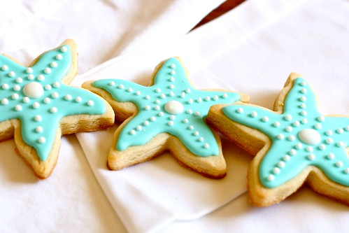starfish sugar cookies 1