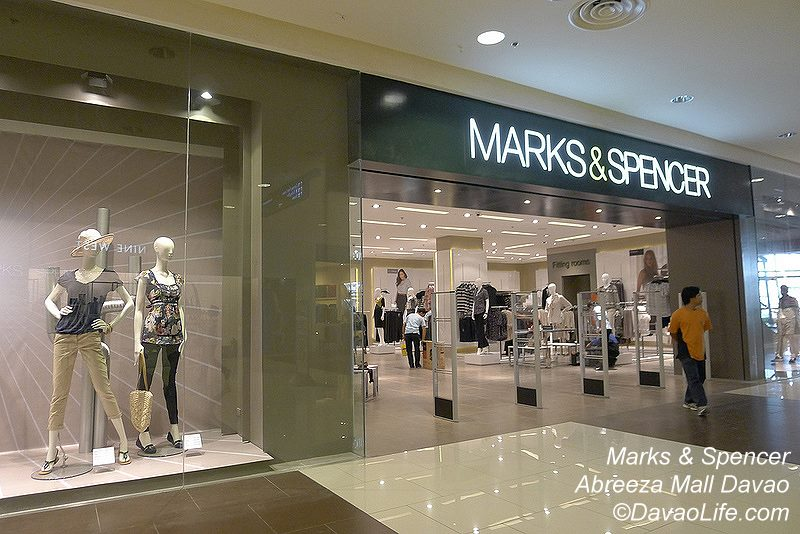 Marks & Spencer Opens at Abreeza Mall Davao April 25, 2012