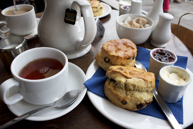 tea in Oxford