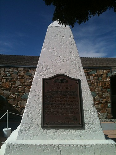 Golden Spike memorial