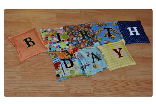 Birthday Bean Bags