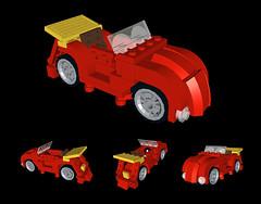 4-stud Lego Beetle