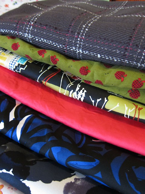 Fabrics for winter skirts