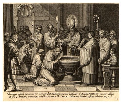 003-Iconographia magni patris Aurelli Augustini…1624-Grabados de Boetius Bolswert- Cortesia de Villanova University