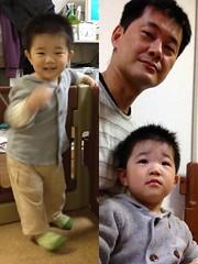 とらちゃんとお父さん(2012/4/25)