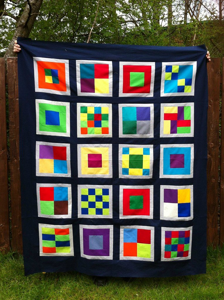 Siblings Together Quilt Top 2