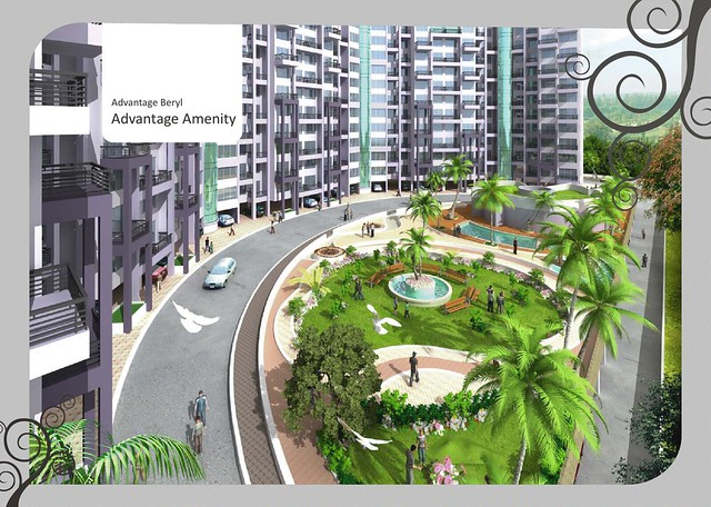 Kolte-Patil Beryl 3 BHK Flats  - 1555 saleable Rs. 78.8 Lakh Onward & 1715 Saleable Rs. 86.3 Lakh Onward -  at Kharadi Pune 411 014 - 9