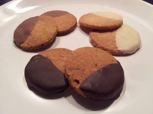 Pekanove shortbread cookies