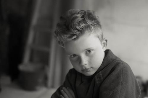 Jan, gekapt anno 1958