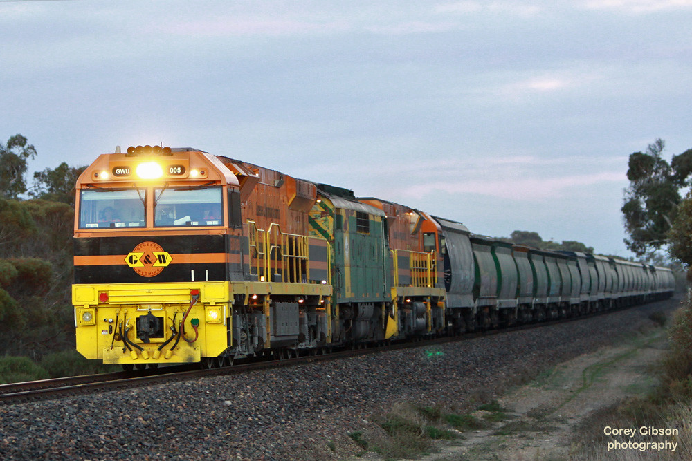 GWU005, GM46 & GWU004 near Keith by Corey Gibson