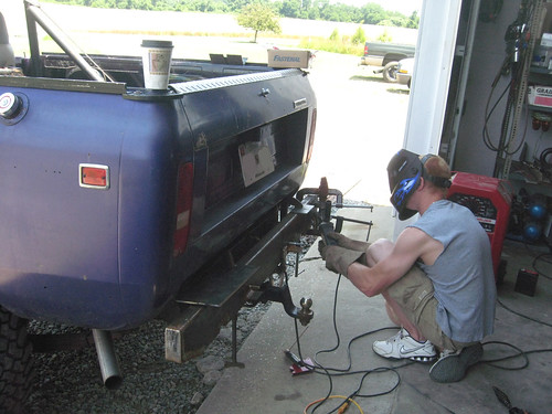 Prelim welding