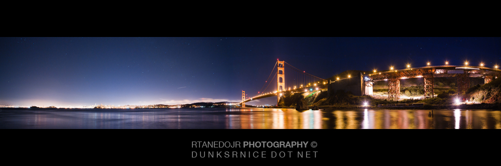 Golden Gate Bridge, San Francisco Pano.