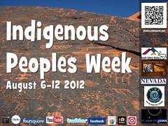 Indigenous Peoples Week #ipw2012 @nuttisamisiida @anderskarr @Nevada_Magazine @guurrbi @TIMEUnlimitedNZ