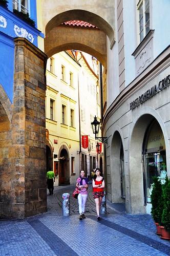 Through the Arches -- Old Town -- Prague