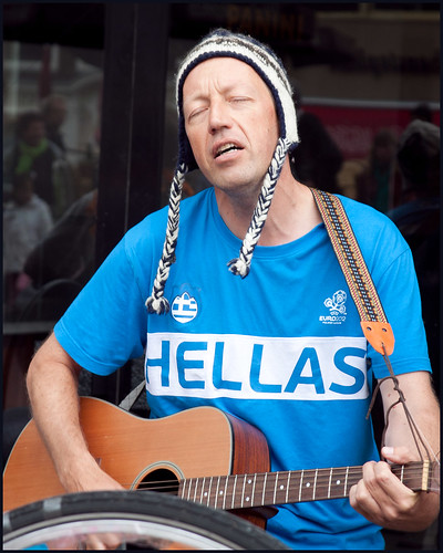 gitarist by hans van egdom