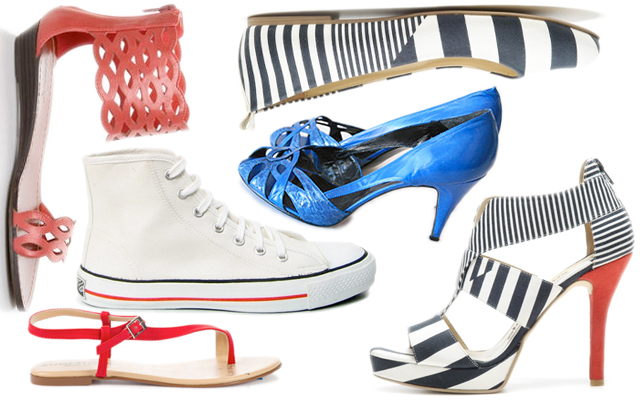 fair vanity, rachel mlinarchik, shoes, red white and blue, made in USA, fashion blog