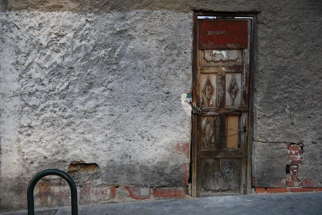 Vieja puerta en Tetuán