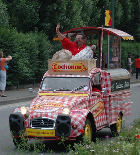 Tour de France 2012-Etape 1-Caravanne publicitaire