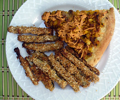 2012-07-02 - Zucchini Sticks & Leftover Pizza…