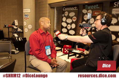 #SHRM12 #DiceLounge Jim Stroud (@jimstroud) interviewed by David Spark