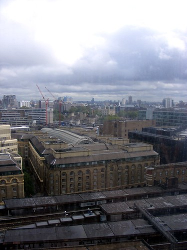 Hay's Galleria from the Shard